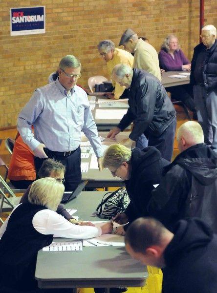 Sioux County 2012 Republican caucus