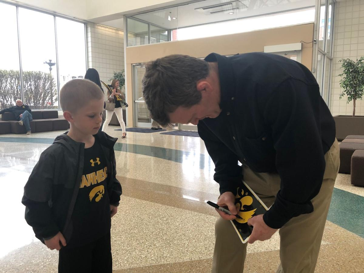 Hawkeyes come to Siouxland