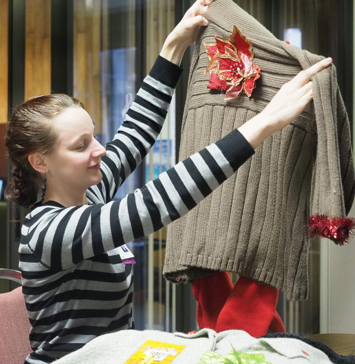 Sale of ugly Christmas sweaters to benefit Mercy Home Care patients ...