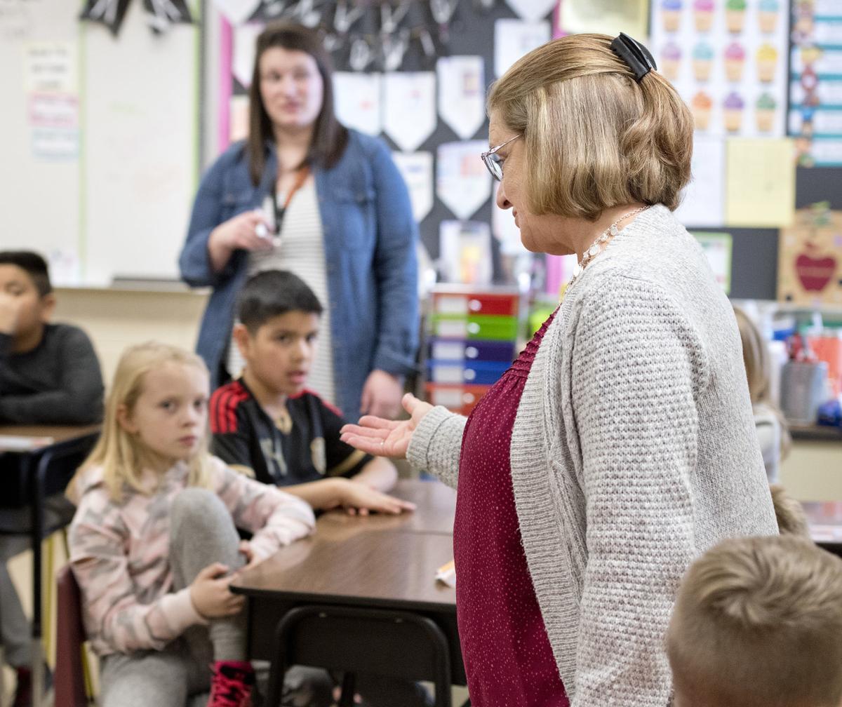 Substitute teachers #1