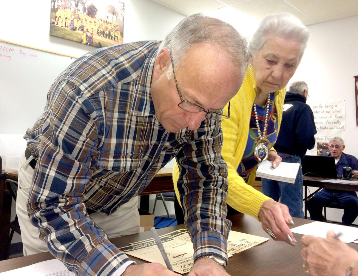 Steve King votes in Odebolt, Iowa on Election Day