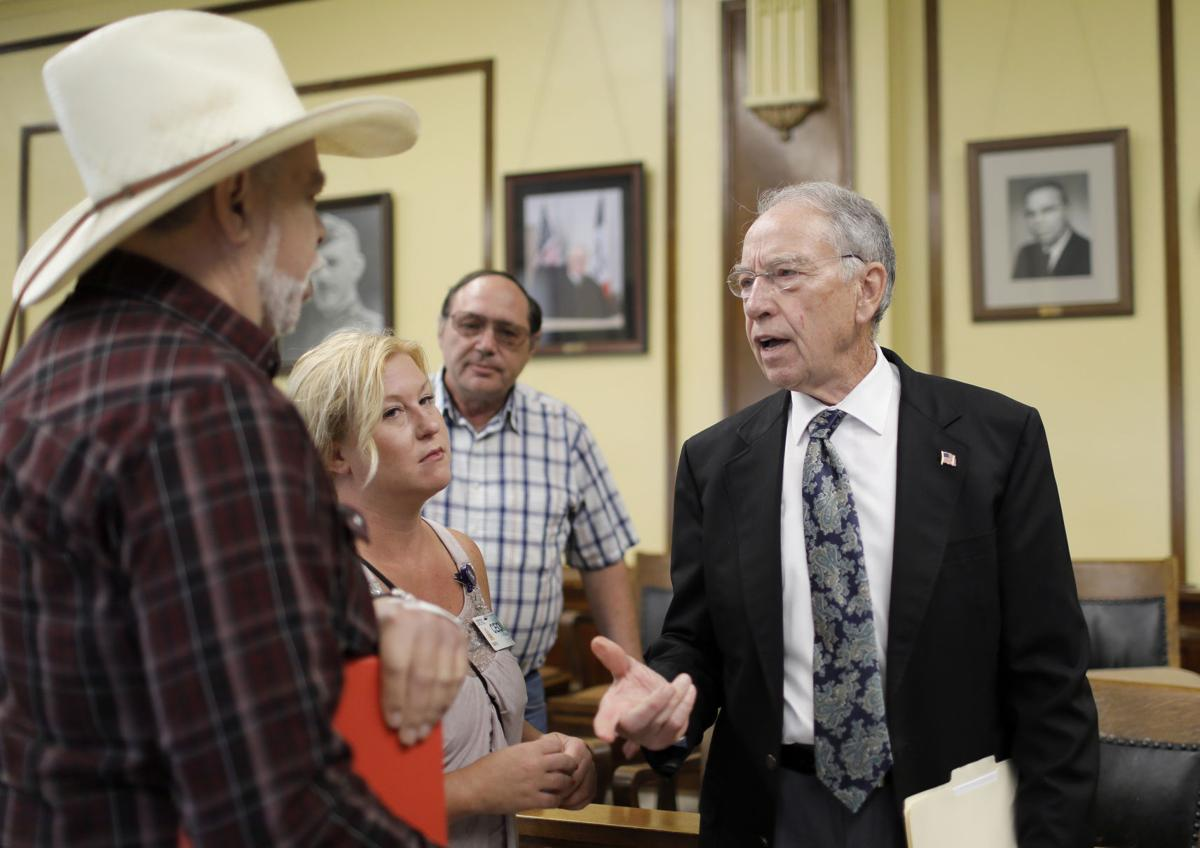 Grassley, farmers nervous about tariffs, but not giving up