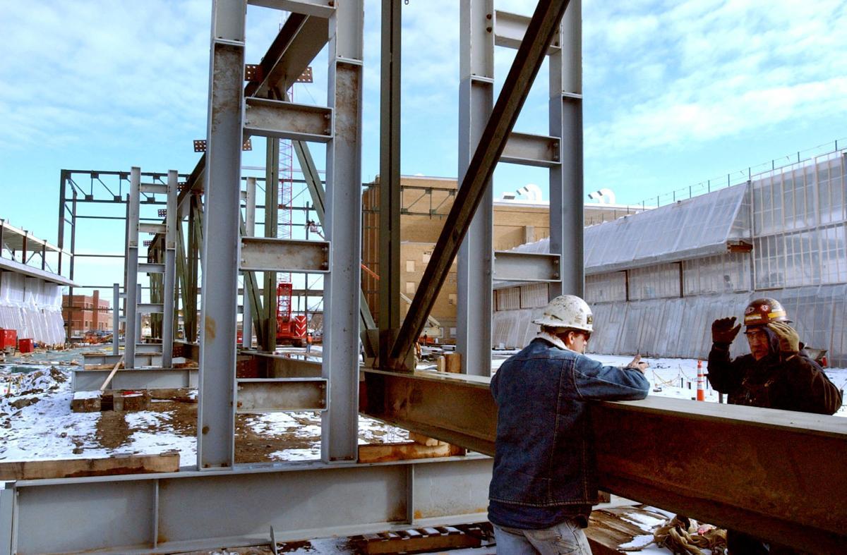 Gateway Arena Steel Work