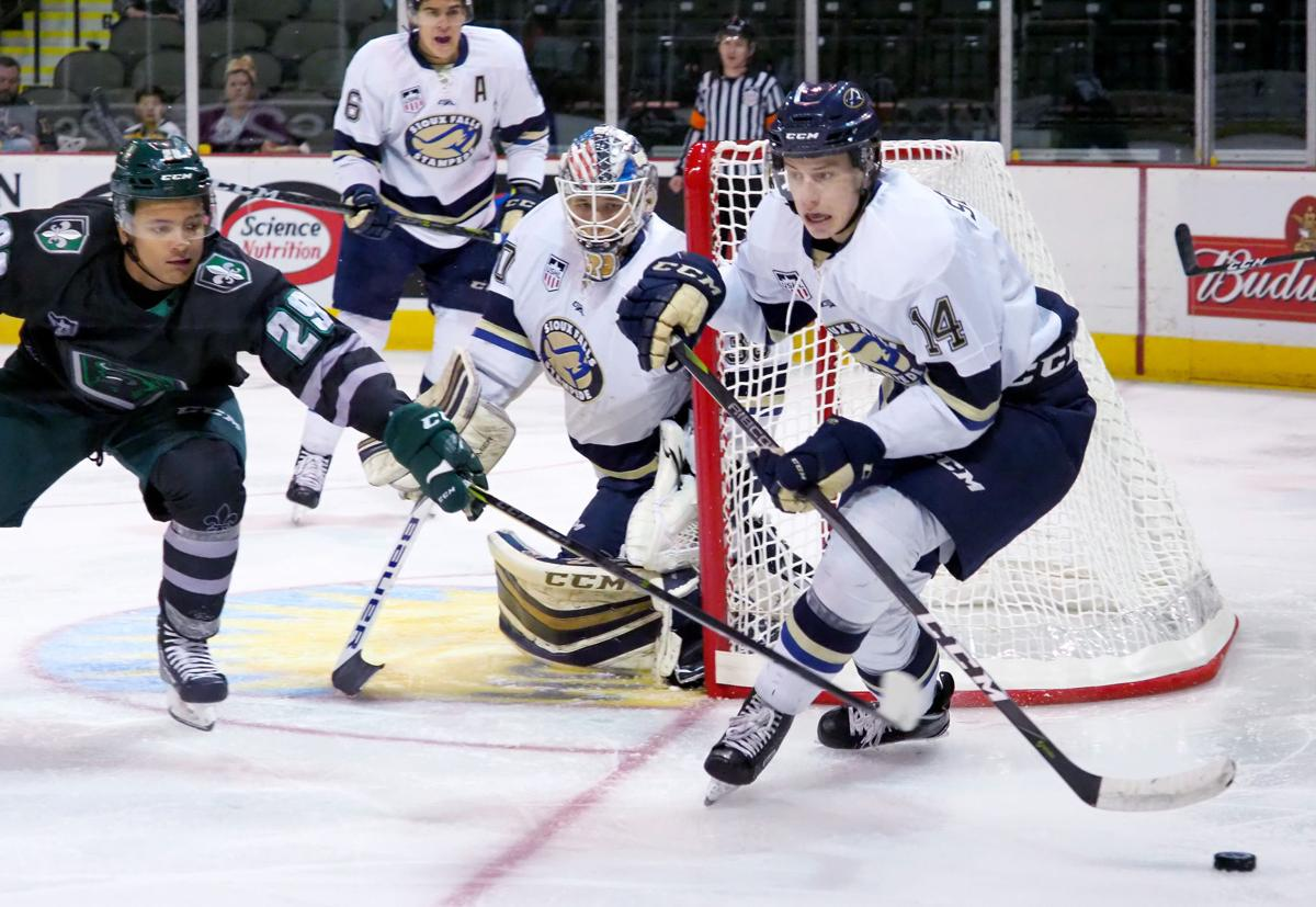 Sioux Falls Stampede at Musketeers hockey