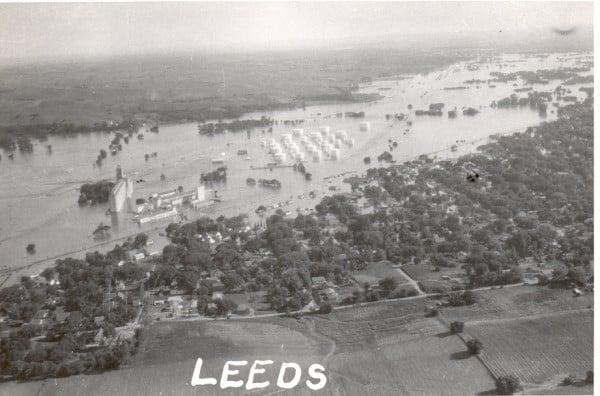 Floyd Flood 1953 in Leeds