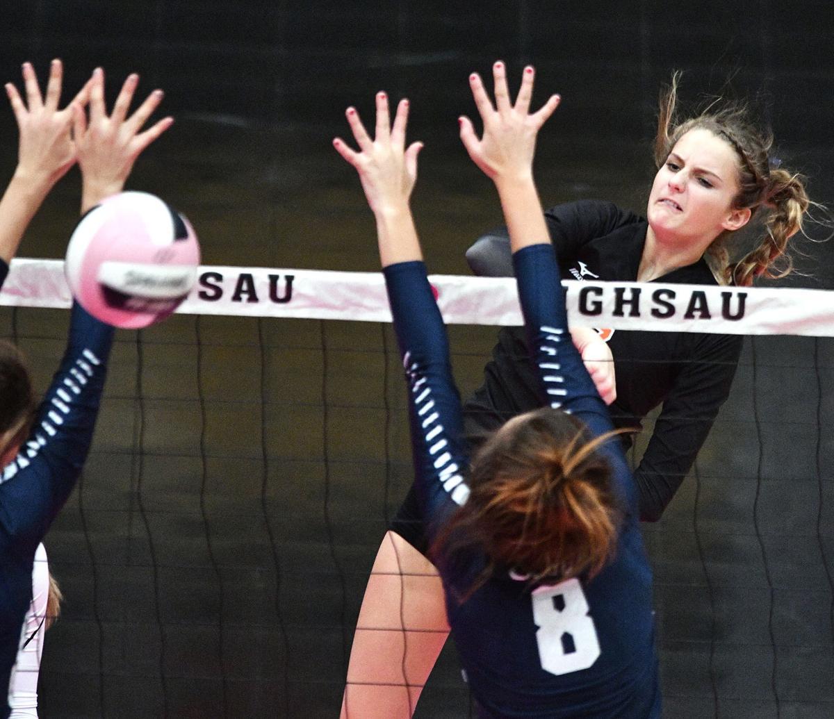 Sergeant Bluff-Luton  vs Cedar Rapids Xavier state volleyball