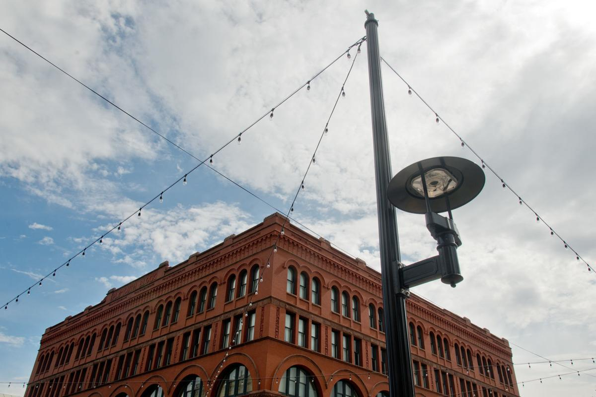 New Fourth Street Lighting