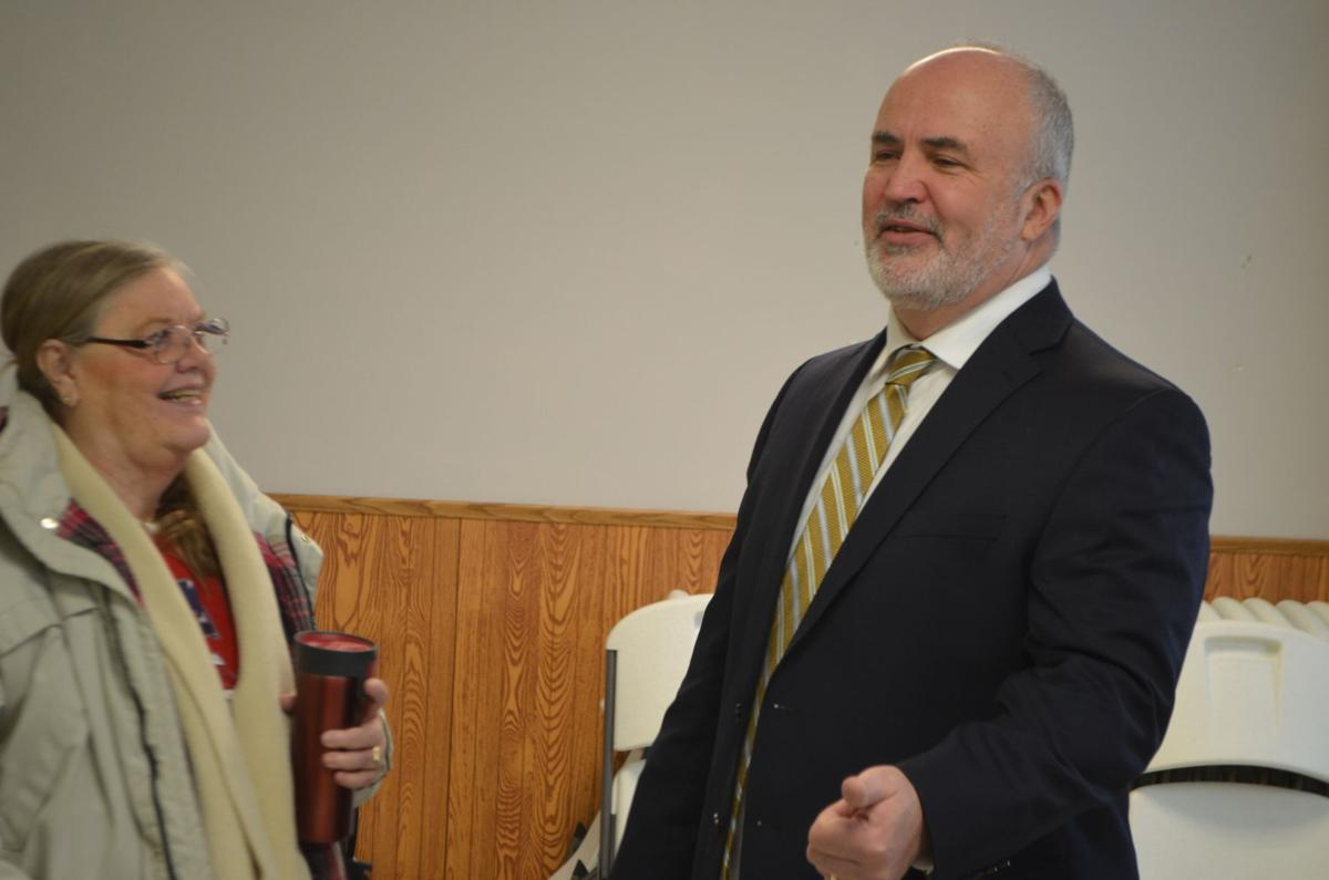 jim carlin with constituent