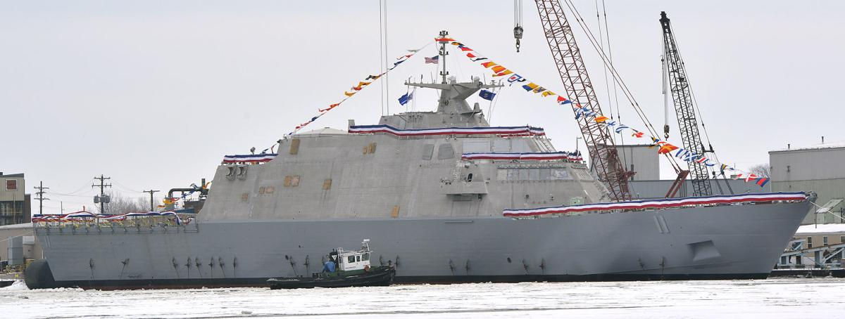 USS Sioux City launch