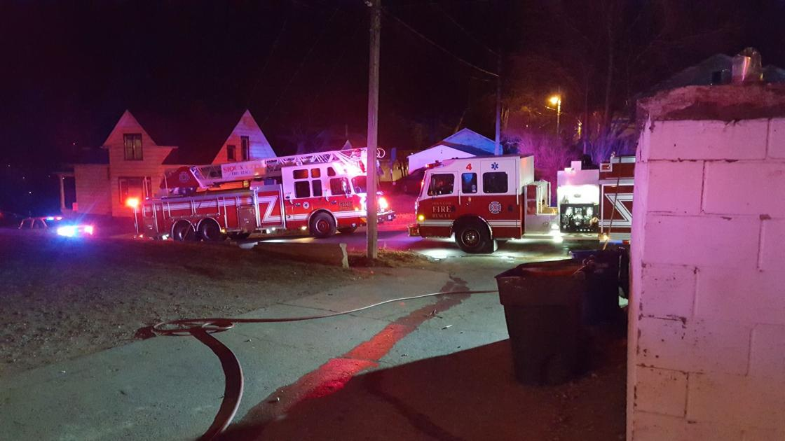 Sioux City house fire being treated as arson