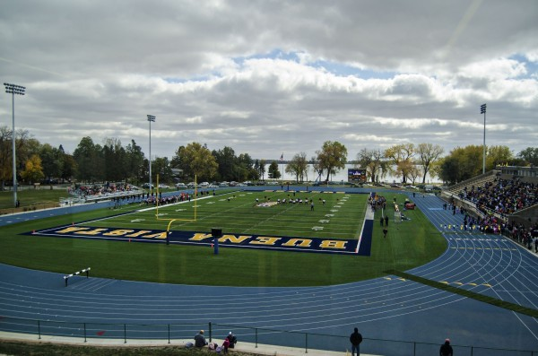 Denison University Football >> Dorm sky box offers 'Buena Vista' -- beautiful view