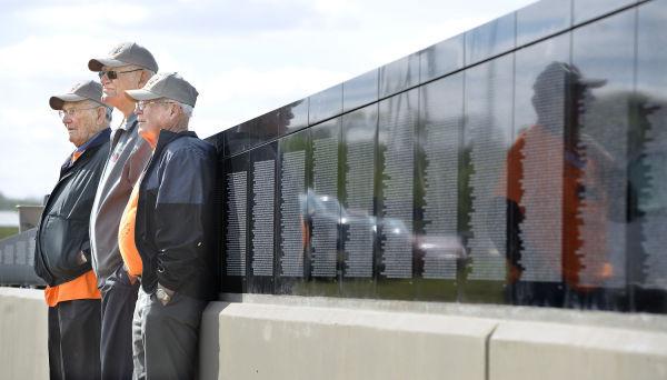185th Vietnam veterans wall