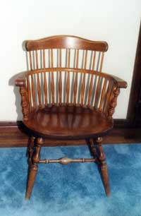 Chairs Revive Colonial Style