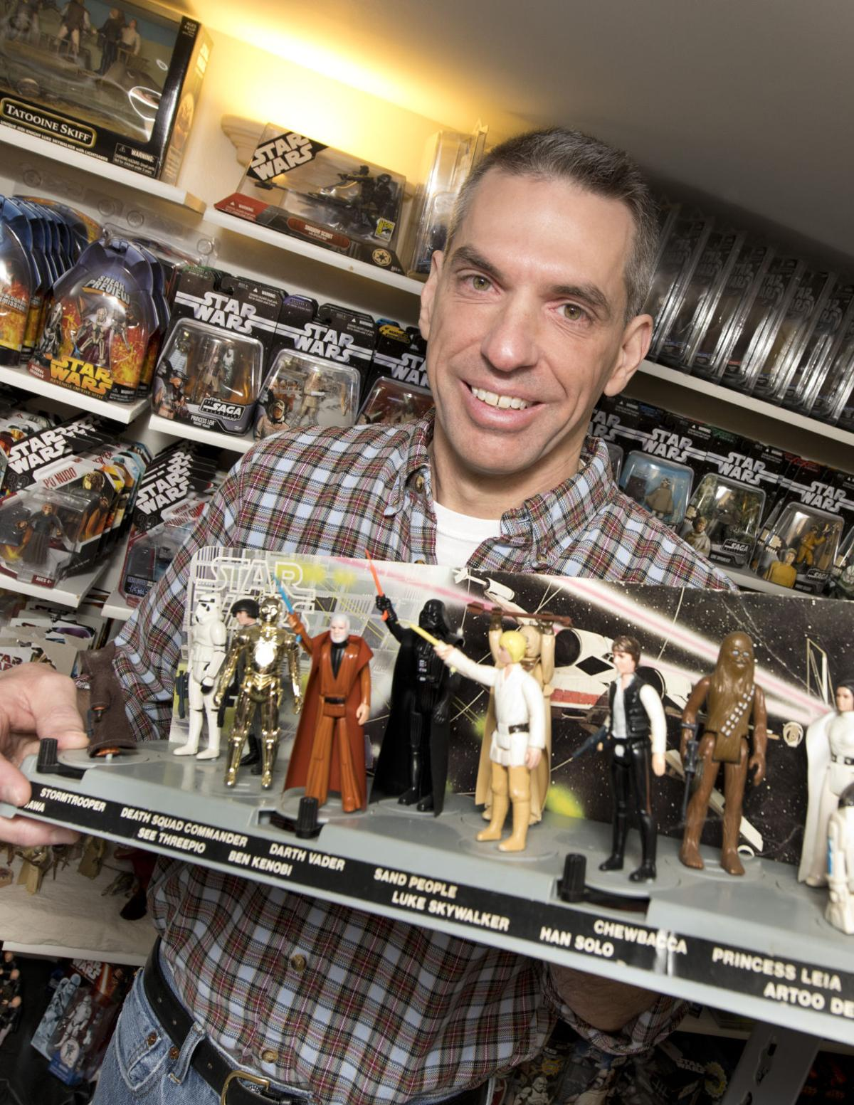 Star War collector Randy Van Peursem