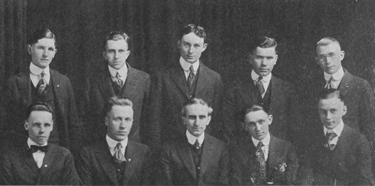 Morningside Forensics team, 1919