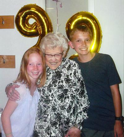 Your Own Superstore Greeter, Mikki, Turned 99!