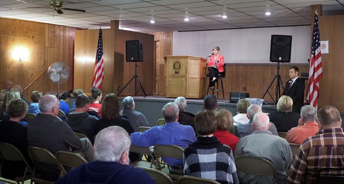 Senator Joni Ernst town hall meeting