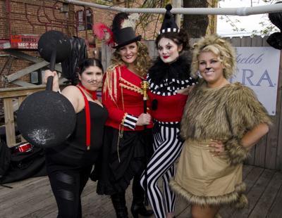 Barstool Open Circus