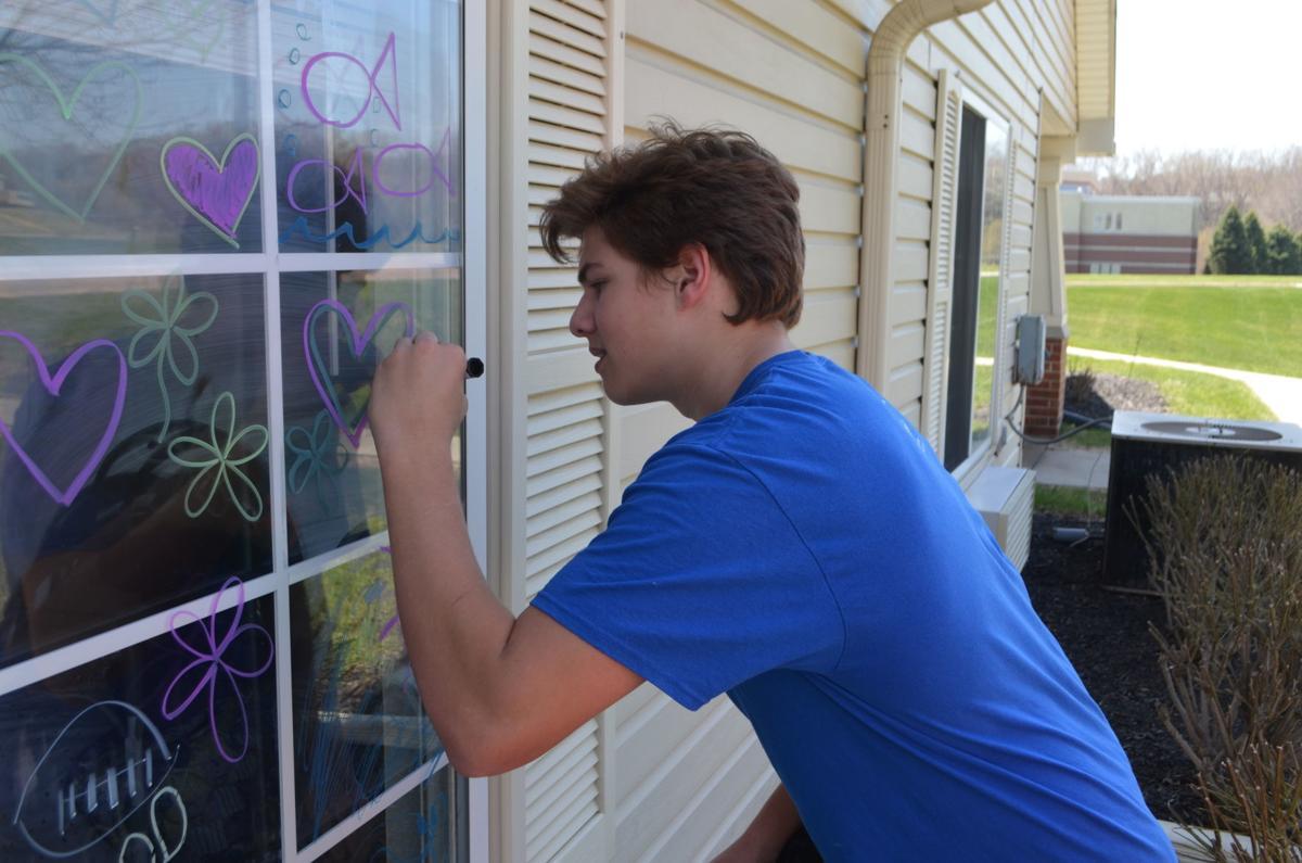 eric bowman making window art