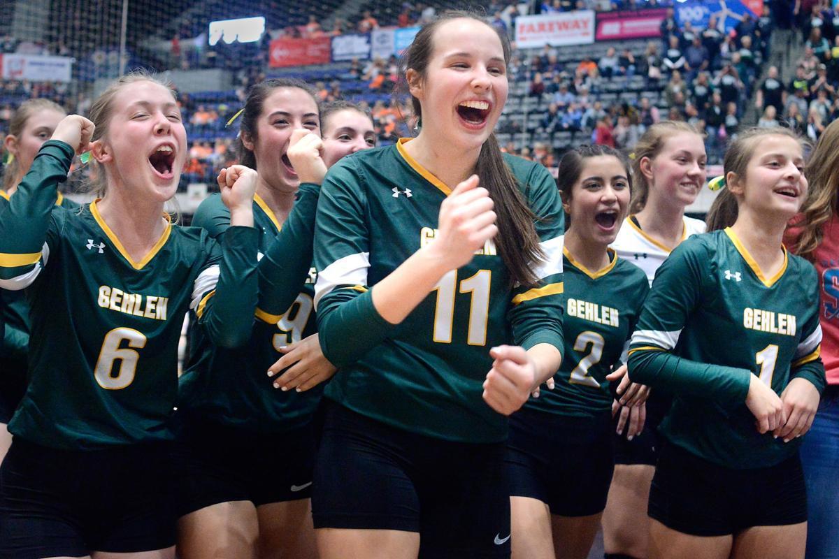 Iowa State Volleyball Gehlen Catholic vs. East Mills