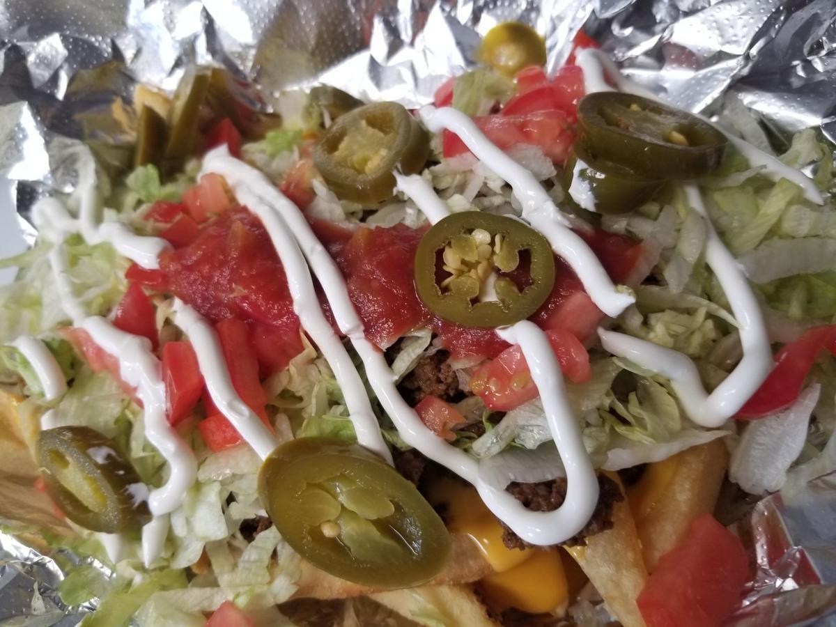nacho fries closeup
