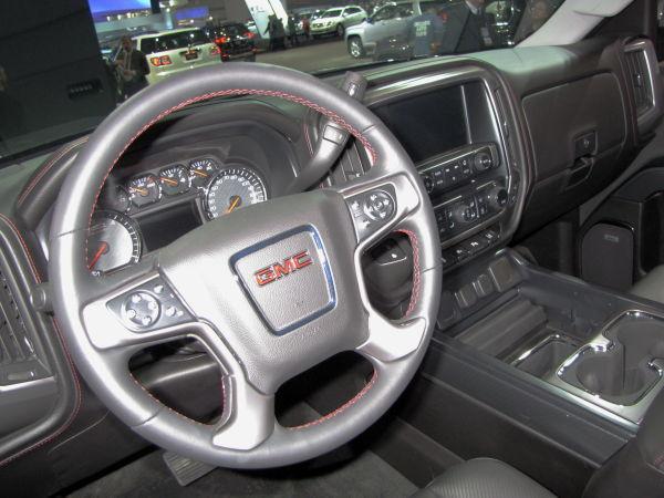 14 GMC Sierra Interior