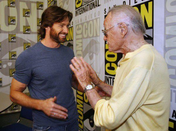 Hugh Jackman, Stan Lee