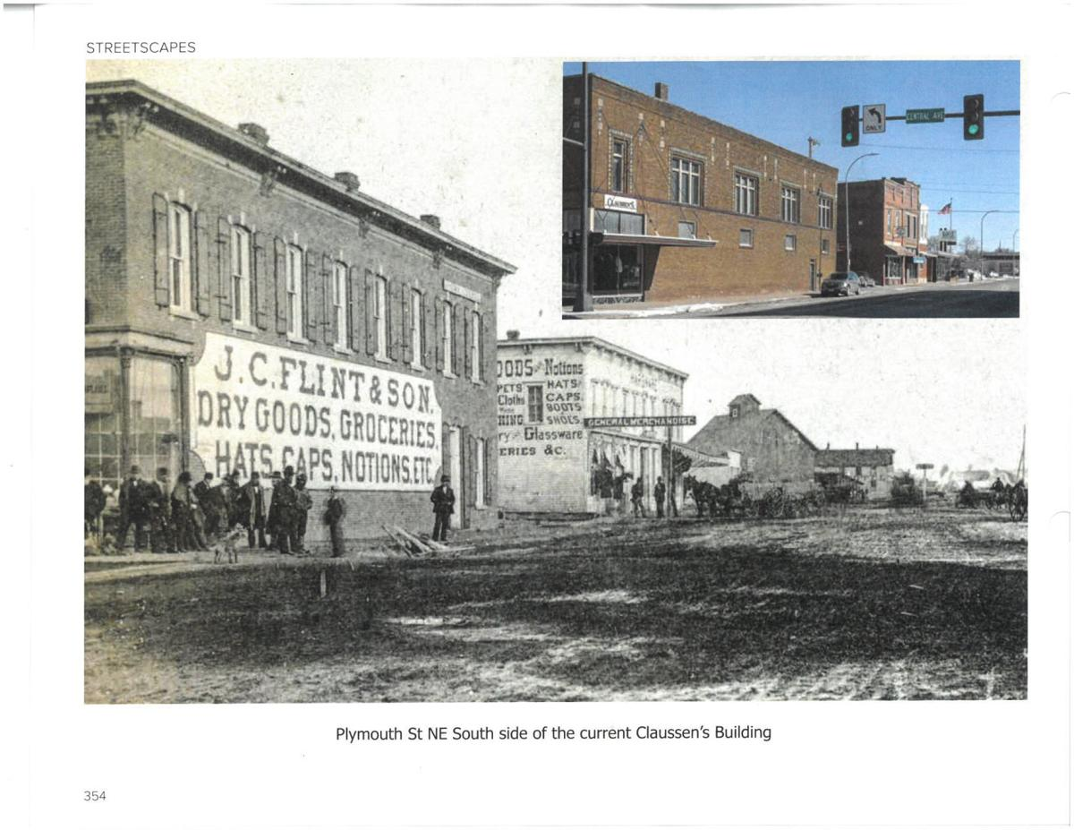 Claussen's, then and now