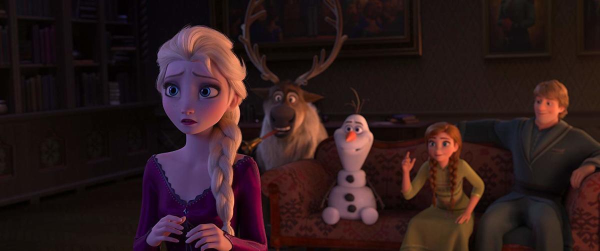 Frozen II scene