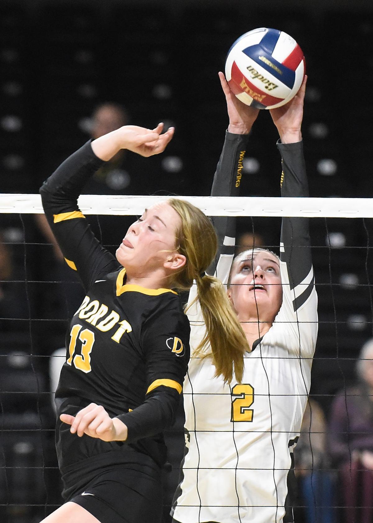 Volleyball NAIA Dordt vs. Corban