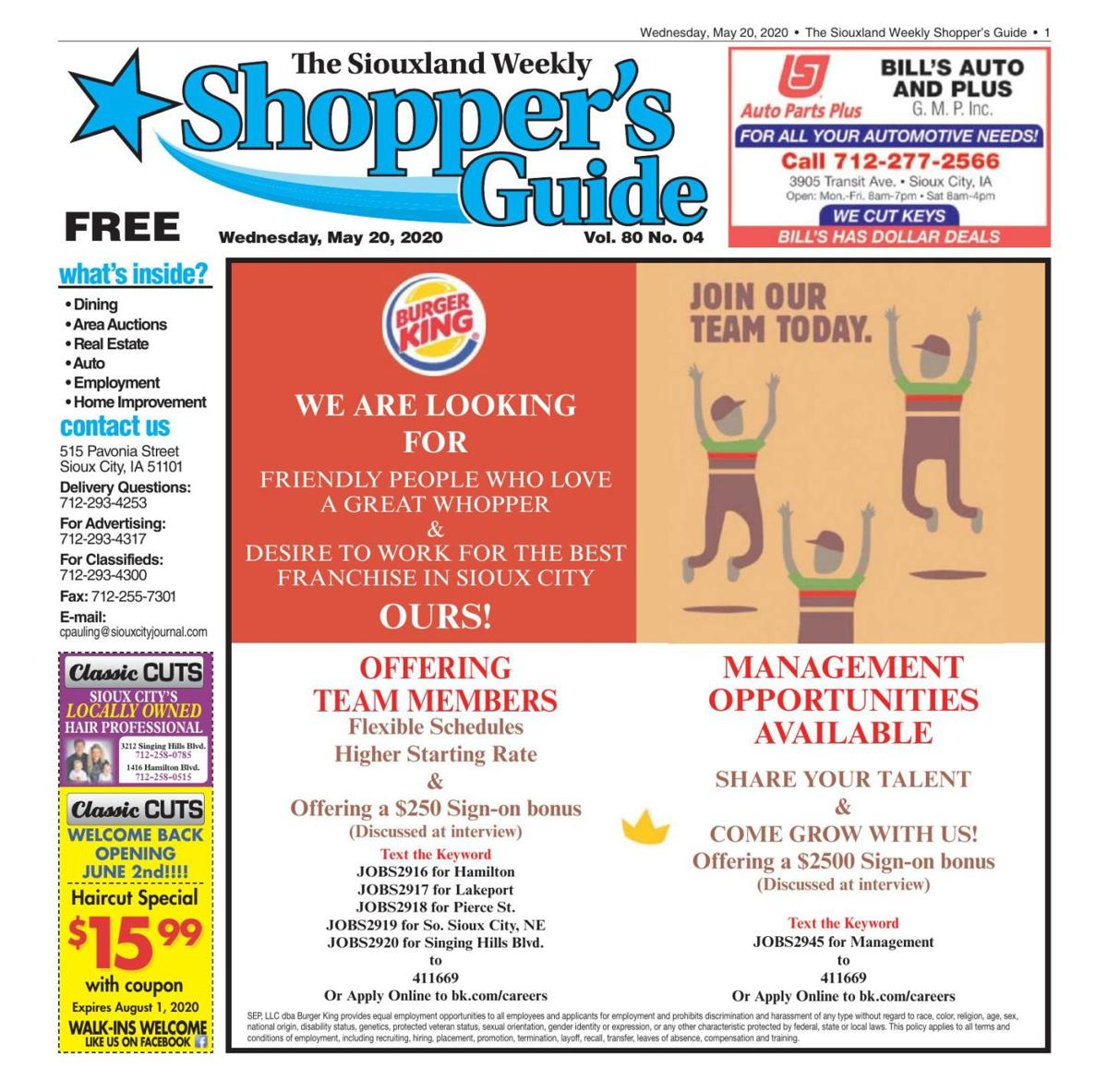 Shopper's Guide - May 20, 2020
