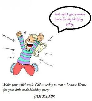 Kids love Bounce Houses