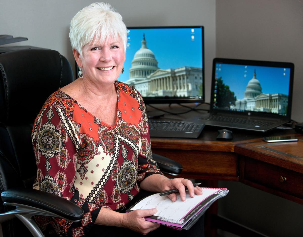 Female veteran Vicki De Witt