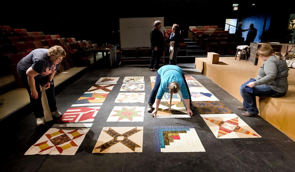 Morningside musical giant quilt