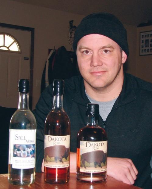 Nate Brady distills his own spirits