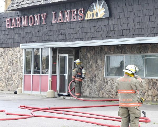 Harmony Lanes fire