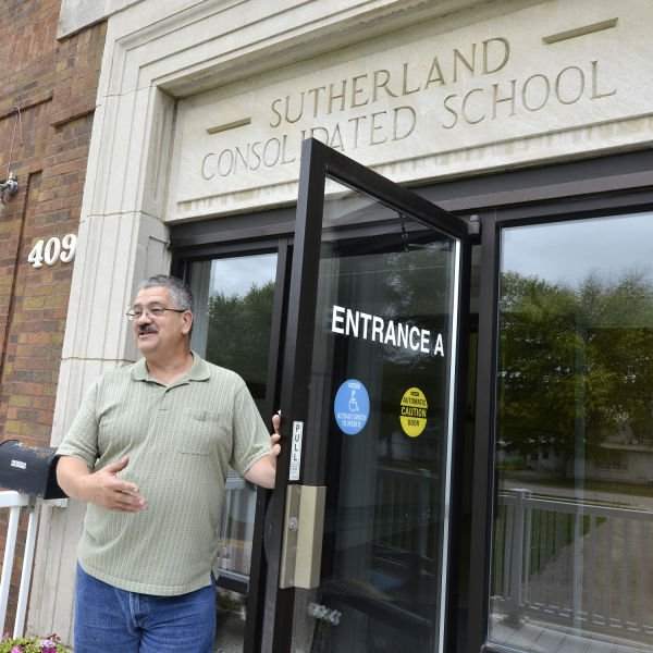 One Man's Vision Turns Sutherland School Into Place For