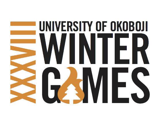 2018 Okoboji Winter Games logo