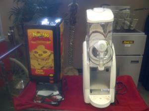 Ice Cream and Nacho Machine