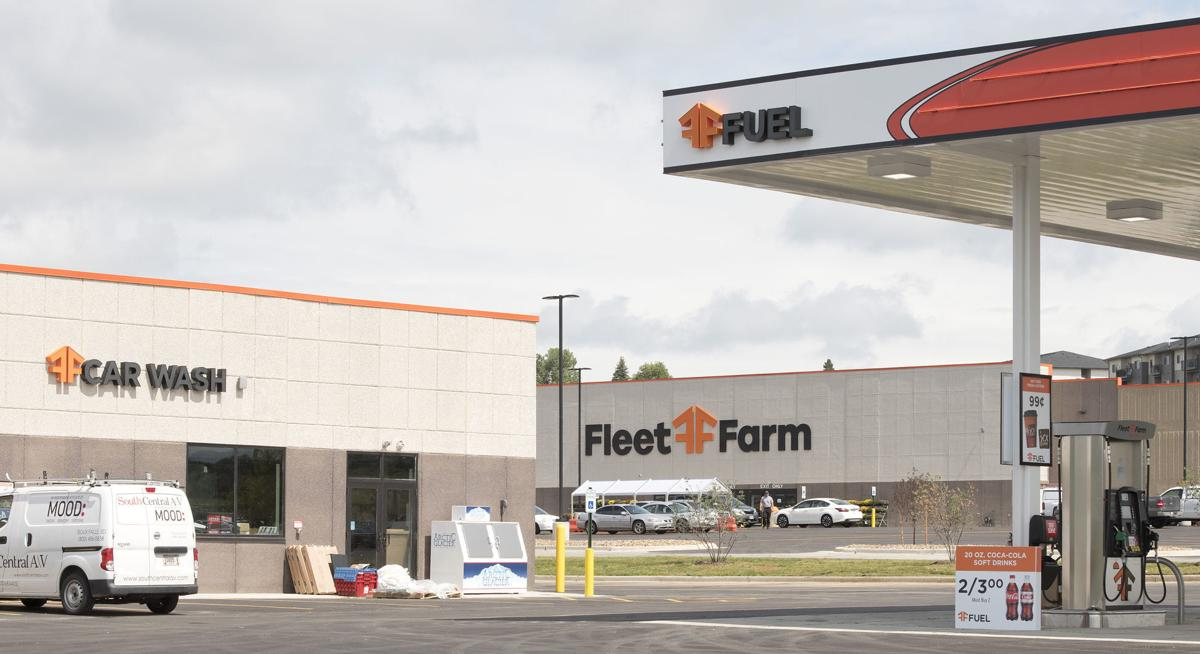 Fleet Farm opening