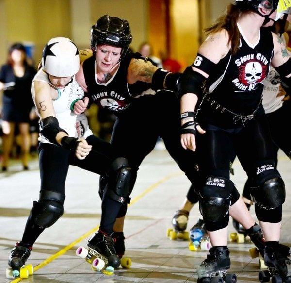 Sioux City Roller Dames roller derby