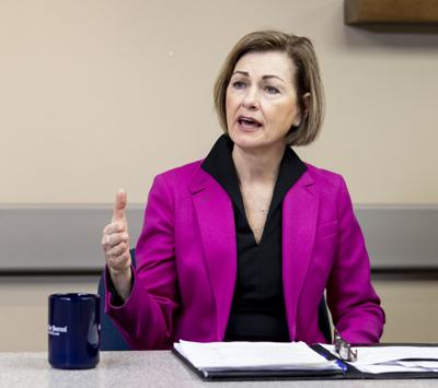 Gov. Kim Reynolds discusses COVID-19 response