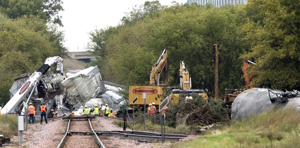 Alton train derailment