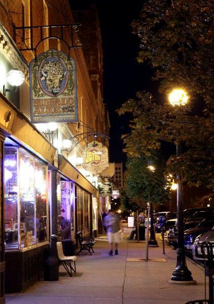 Historic Fourth Street at Night