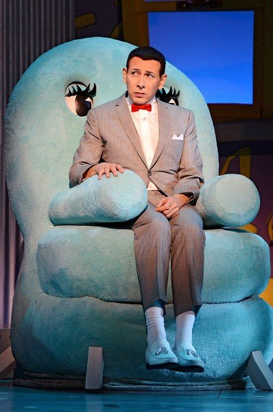 Pee-wee Herman ponders his fate with his friend Chairy in u201cThe Pee-wee Herman Show on Broadway.u201d  sc 1 st  Sioux City Journal & Pee-wee Herman returns to television | Television | siouxcityjournal.com