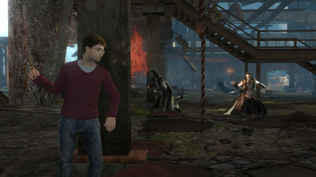 EA and Warner Bros. announce Harry Potter and the Deathly Hallows video games