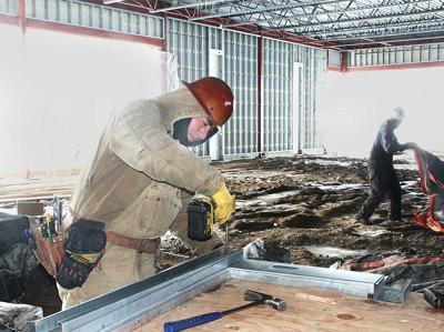 Northwest Bank, Spencer construction