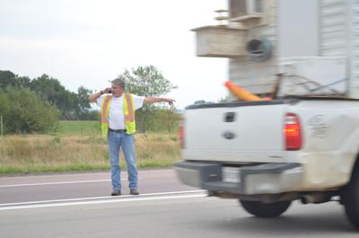 Two people hospitalized, I-29 traffic diverted after