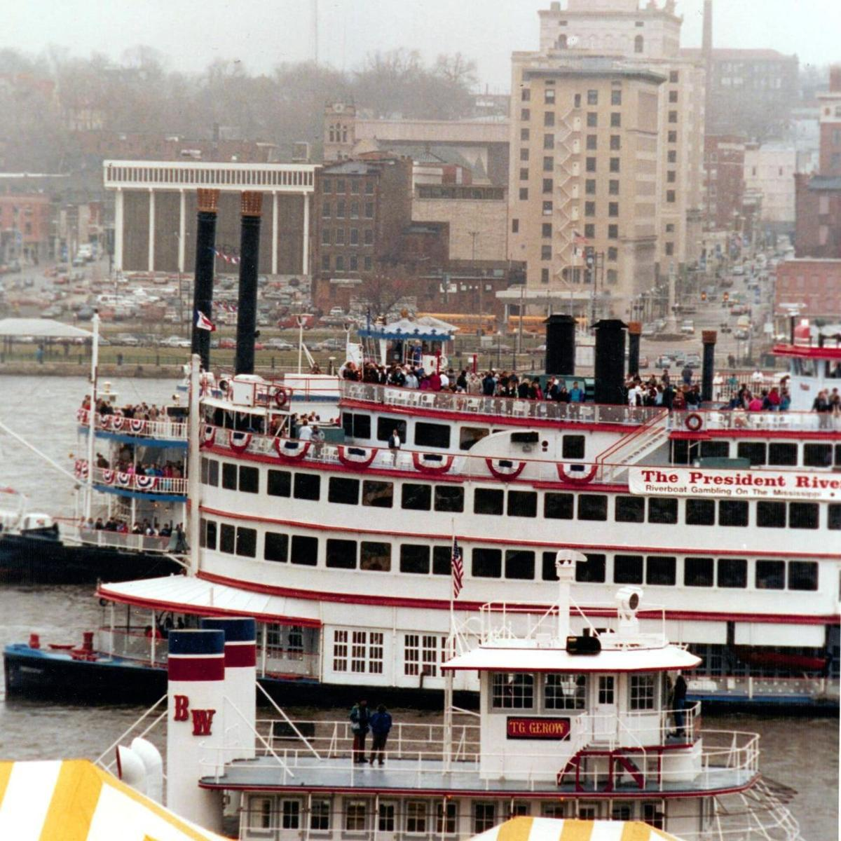 Which states have riverboat gambling casinos igt ra