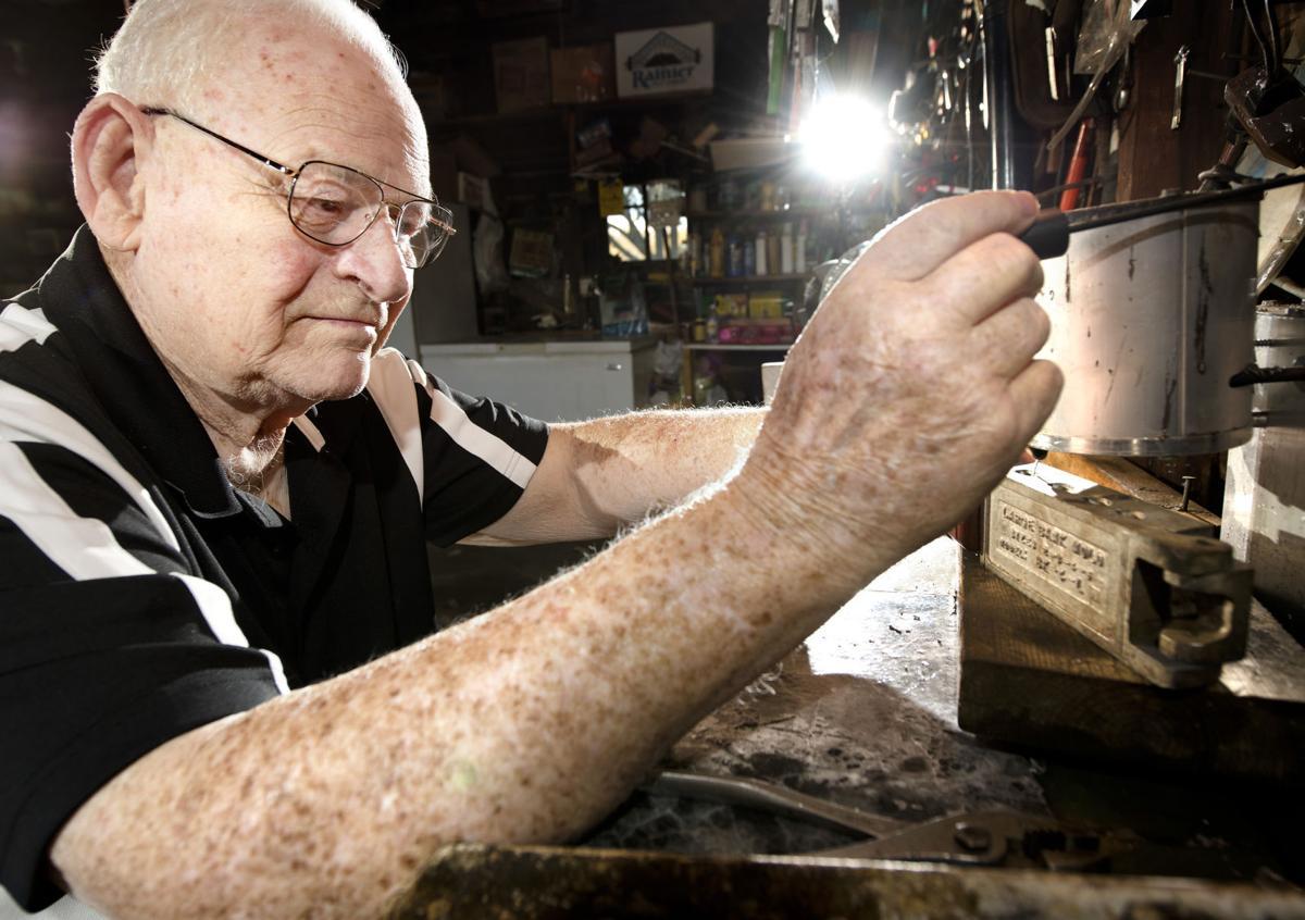 Korean War Veteran Roy Trobaugh
